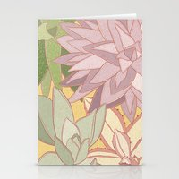 succulents Stationery Cards featuring Succulents by Julia Walters Illustration