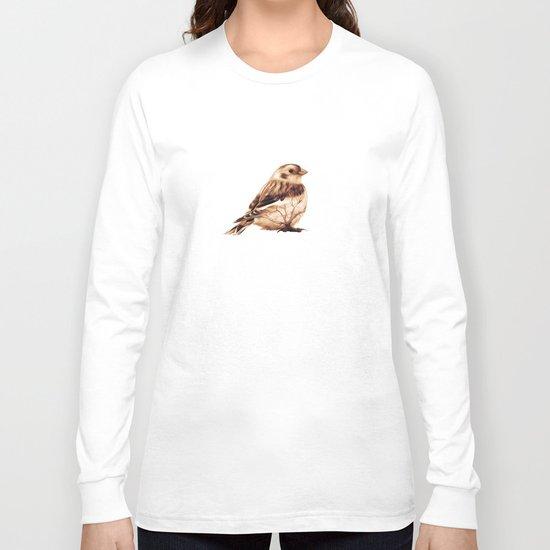 Snow Bunting Long Sleeve T-shirt