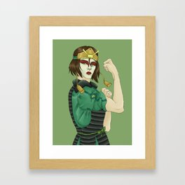 Kyoshi Warrior Framed Art Print