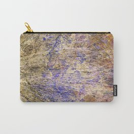 Purple Gold Carry-All Pouch