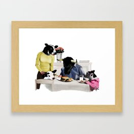 You Are Who You Eat! #2 Framed Art Print