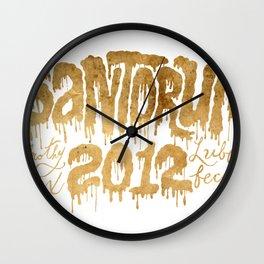 Santorum Wall Clock