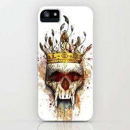 NO GLORY iPhone Case