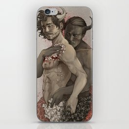 Devil's Embrace iPhone Skin