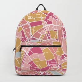 Cracow map Backpack