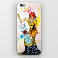 transistor iPhone & iPod Skins featuring Red Transistor by Salzburn Designs Shop