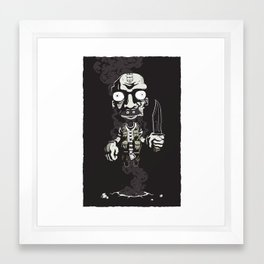This is not Locke Framed Art Print