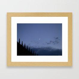 Night at Salamanca Framed Art Print