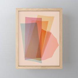 Abstraction_Spectrum Framed Mini Art Print