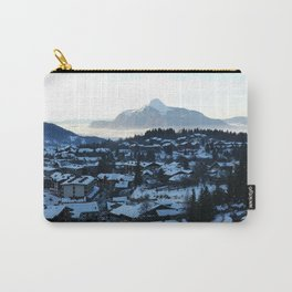 Twilight in the Ski Resort Carry-All Pouch