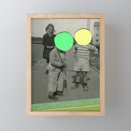 Fluo Argument Framed Mini Art Print
