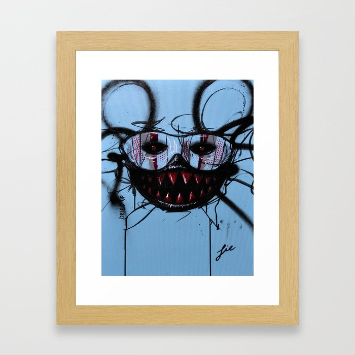 Dried Up Framed Art Print