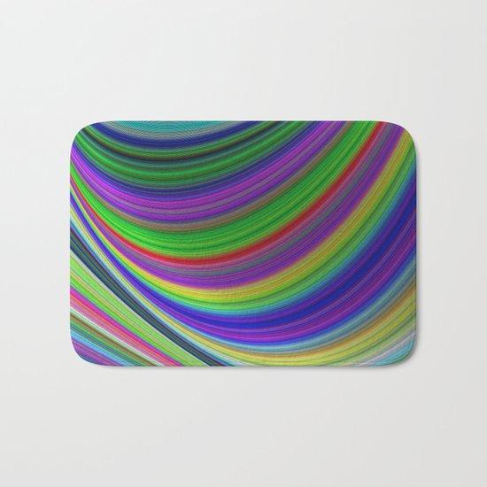 Color curves Bath Mat