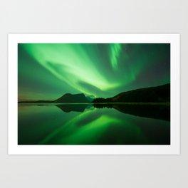 Norway light Art Print
