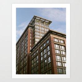 Chelsea Building Top Art Print