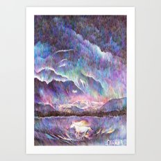Ponyta  Art Print