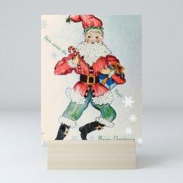 Santa Clause Mini Art Print