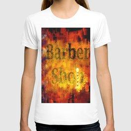 Barber Shop Sign T-shirt