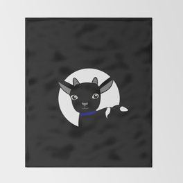 Micky the Goat Throw Blanket