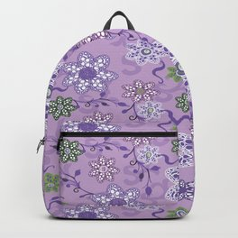 Lace Floral Backpack