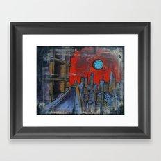 Doom City: Paradigm Framed Art Print