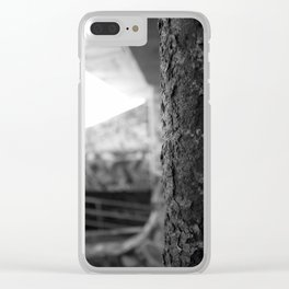 Urban Rust Miami Abandoned Marina Stadium in Key Biscayne Clear iPhone Case