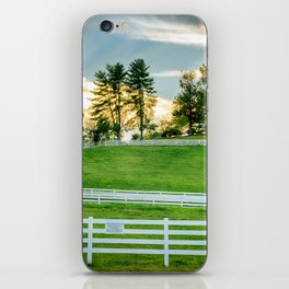 Sunrise on the Ranch iPhone Skin