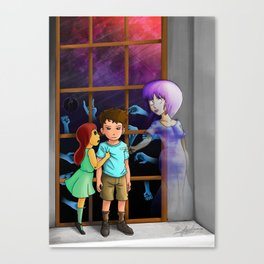 The Hands Can't Resist Him Canvas Print