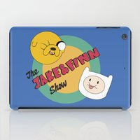 finn and jake iPad Cases featuring The Jake & Finn Show. by Agu Luque