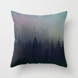Boreal Forest Throw Pillow