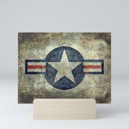 US Air force style insignia V2 Mini Art Print