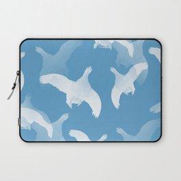 White Birds Against The Blue Sky #decor #society6 #homedecor Laptop Sleeve