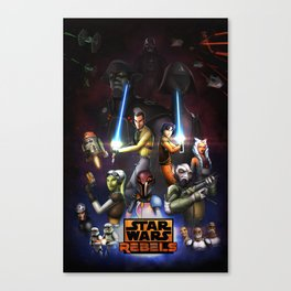 SWR Season 2  Canvas Print
