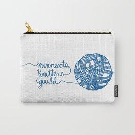 MKG Yarn - Blue Carry-All Pouch