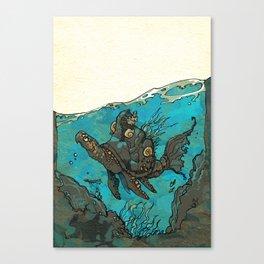 Vaalia - Turtlefish Canvas Print