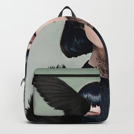 Wings of a Dark Dove Backpack