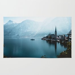 City by Water (Color) Rug