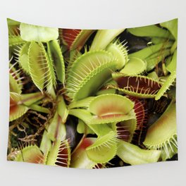 Venus Fly Trap Wall Tapestry