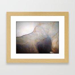 Texture 5 - Limestone Caverns Framed Art Print