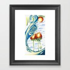 Poppie Flowers Framed Art Print