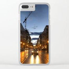 L Street Clear iPhone Case