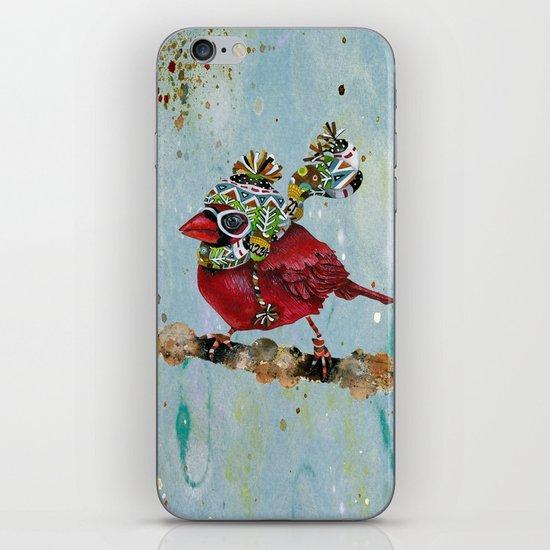 Cardinal Blaze iPhone Skin