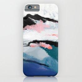 snow mountain iPhone Case