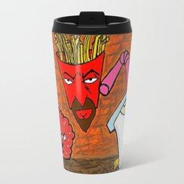 ATHF Fan Art Metal Travel Mug