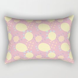 Summer Lemon Blast Rectangular Pillow