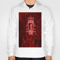 liverpool Hoodies featuring LIVERPOOL LOVER by Acus