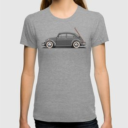 Legendary Classic Ski Bug Vintage Retro Cool German Car Wall Art and T-Shirts T-shirt