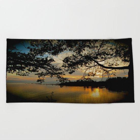 William Morris Revisited Beach Towel