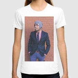 Man Smoking in Georgetown 2 T-shirt