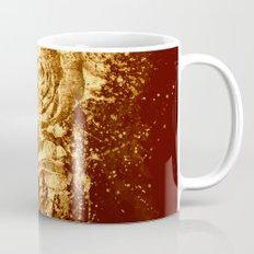 golden  rose explosion Mug